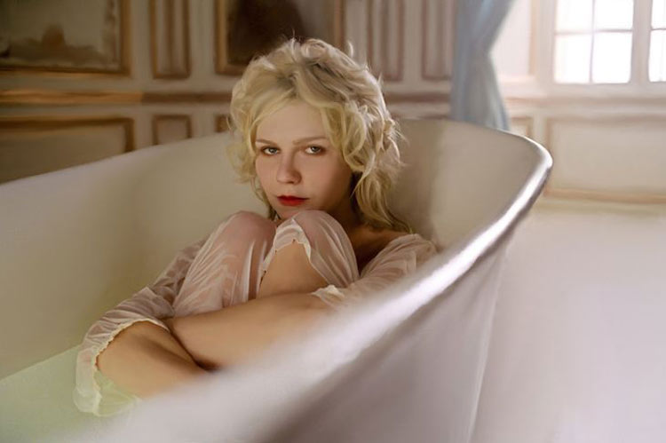Kirsten Dunst as Marie Antoinette, 2006