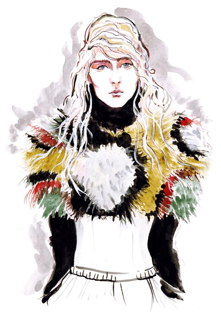 Marni Fall/Winter 2014/15 by Naomi Schultz
