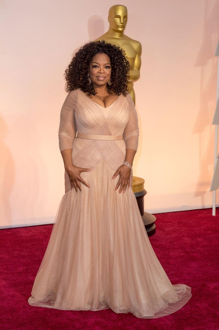 Oprah Winfrey at the Oscars 2015