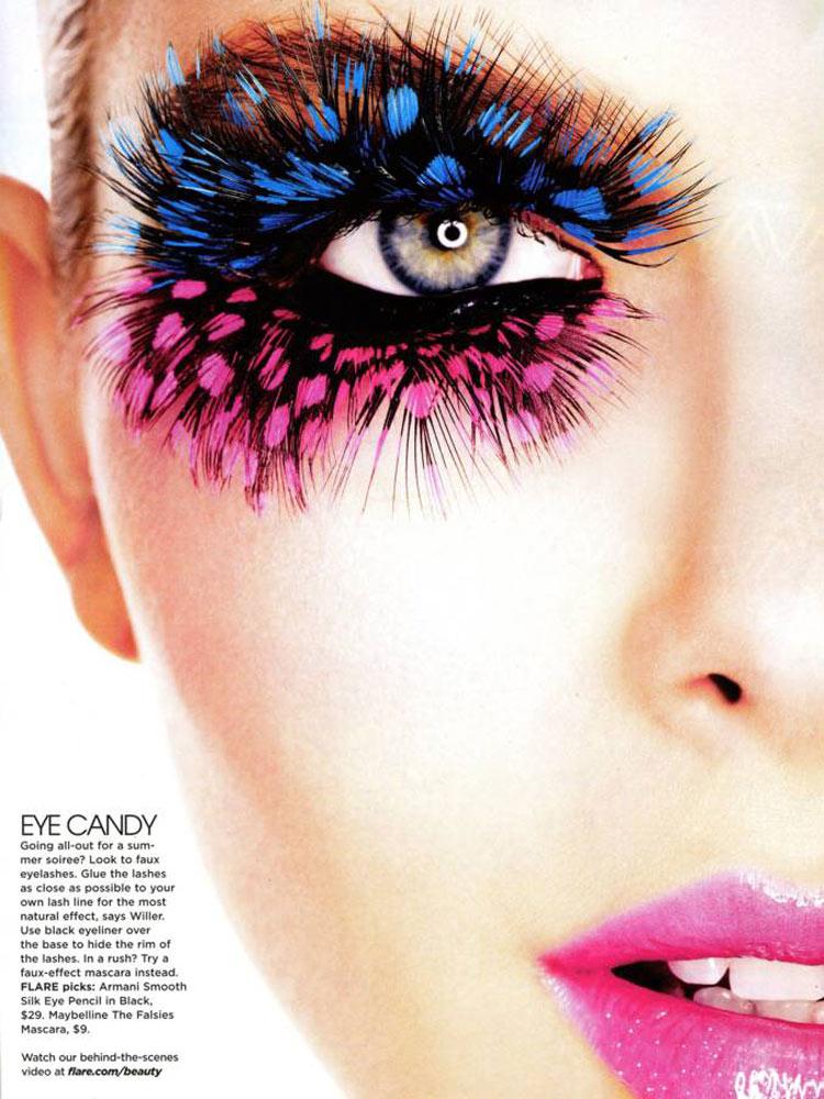 Model: Pamela Bernier / Photo: Max Abadian / Flare Magazine