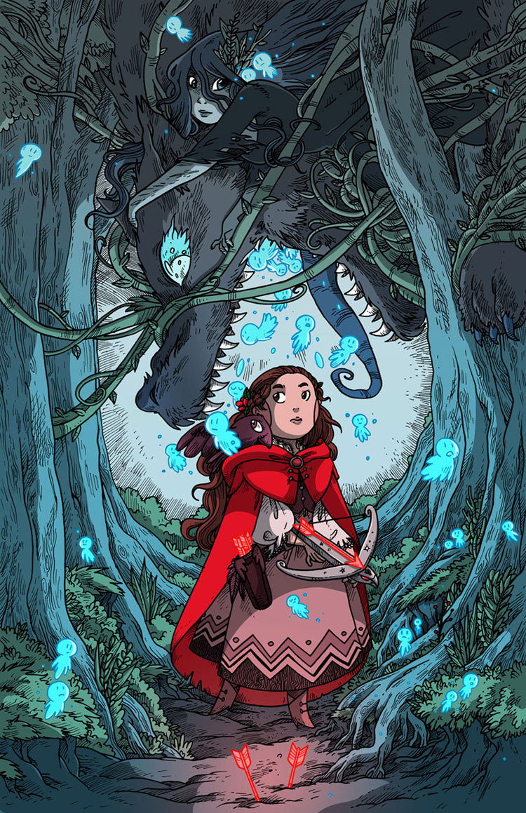 Red Riding Hood by Isabelle M. A.K.A. Secondilina