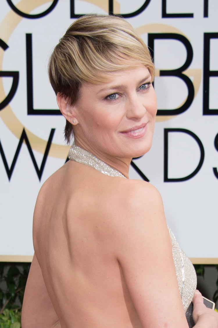 Robin Wright at the Golden Globes 2014