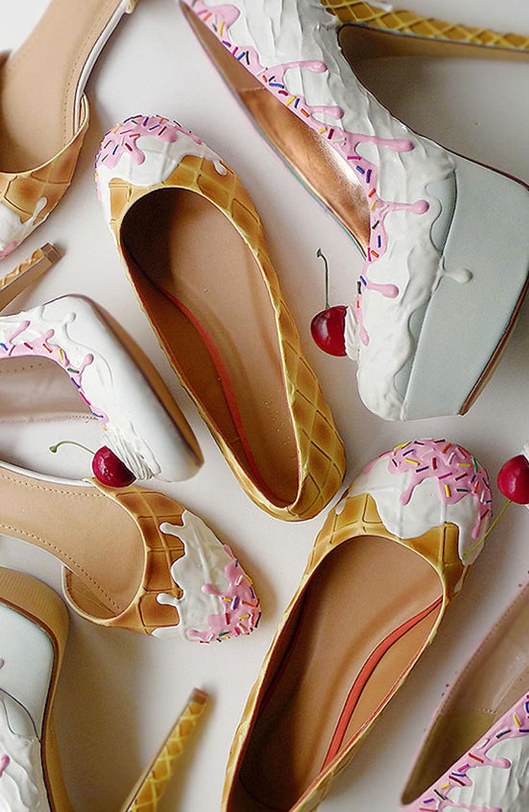 Sweet shoes by the Shoe Bakery