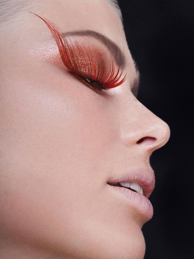Model: Sophie Strubl / Photo: Bernhard Musil / Active Beauty Magazine