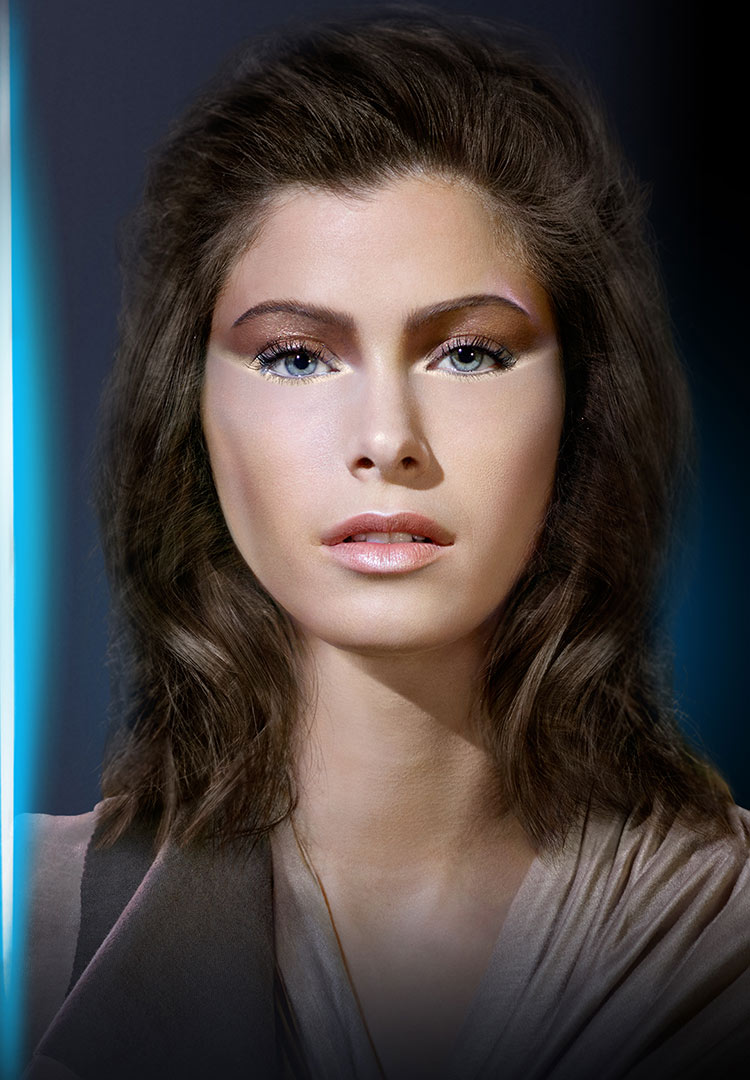 Covergirl Star Wars makeup look: Jedi