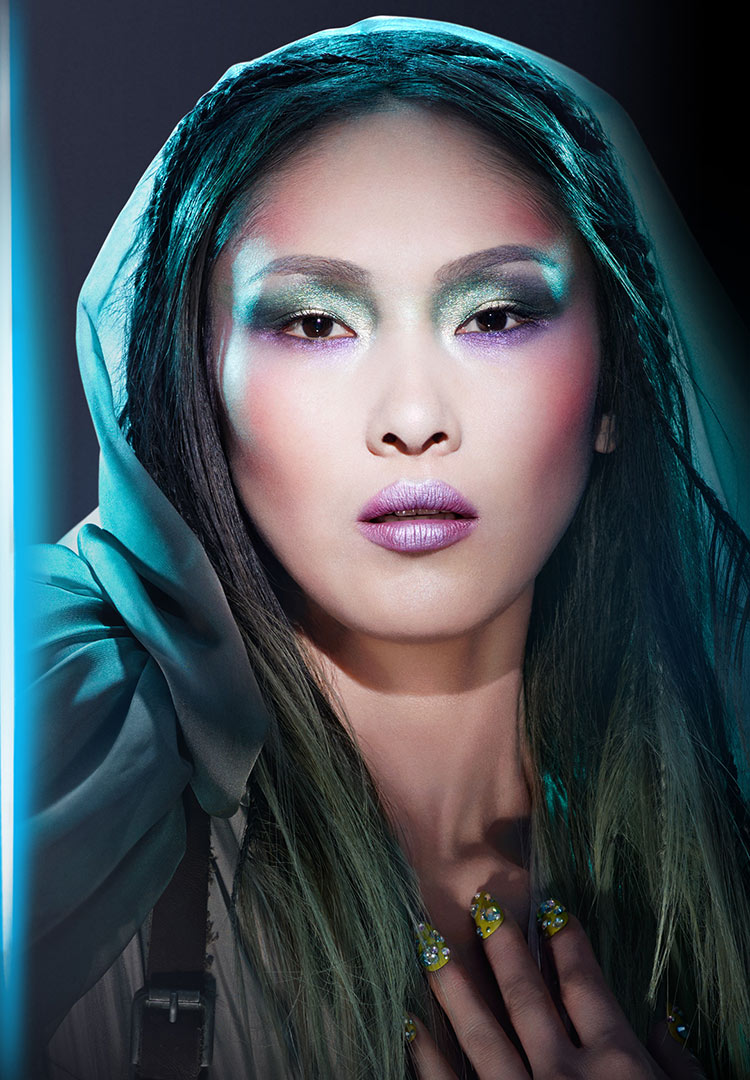 Covergirl Star Wars makeup look: Mystic