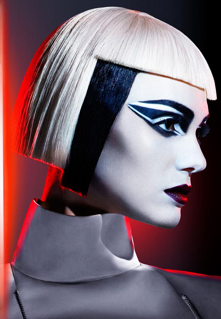 Covergirl Star Wars makeup look: Stormtrooper