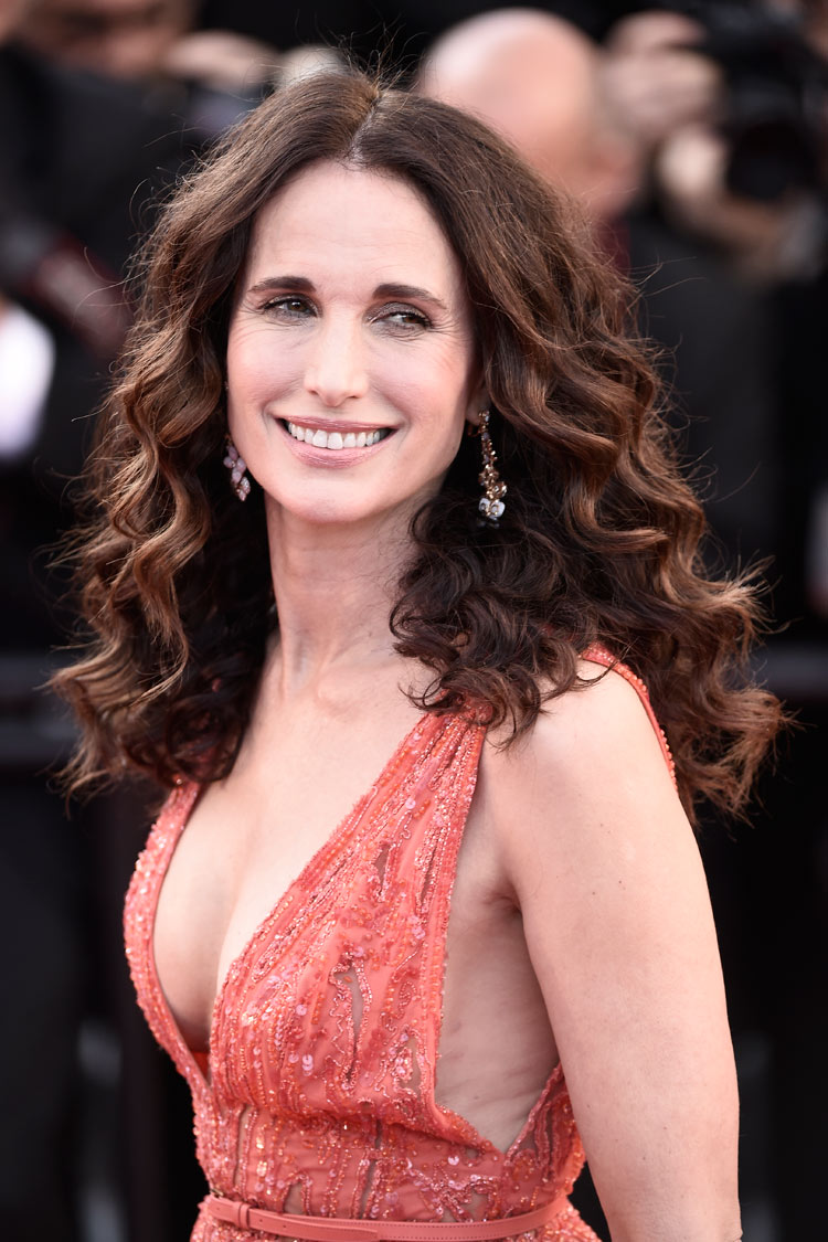 Andie Macdowell at the 2015 Cannes Film Festival