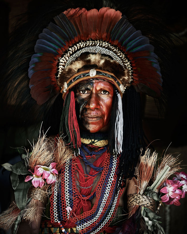 Goroka tribe from Indonesia and Papua New Guinea by Jimmy Nelson
