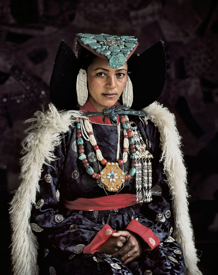 Ladakhi people from India by Jimmy Nelson