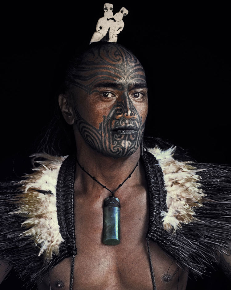 Maori tribe from New Zealand by Jimmy Nelson