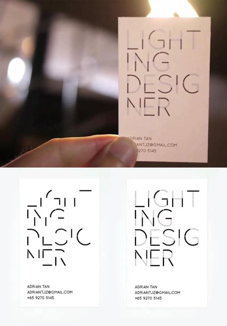 neonscope 20 creative business card designs