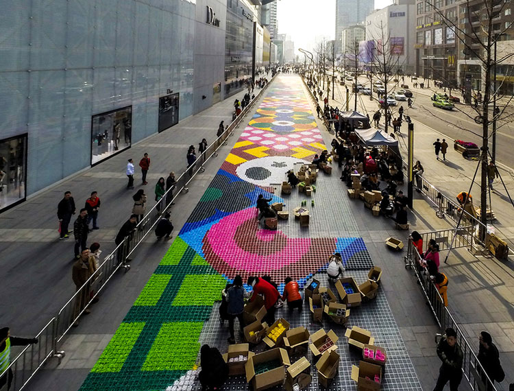Candy Carpet by Craig & Karl