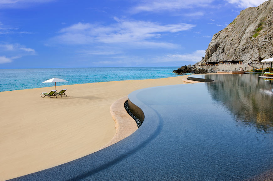 Infinity pool, Capella Pedregal Resort, Cabo San Lucas, Mexico