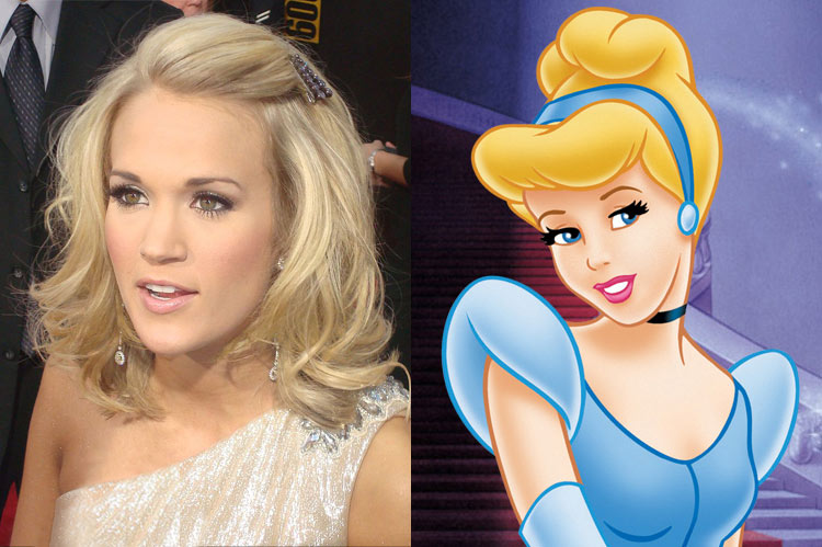 5 Celebrity Disney Princesses: Carrie Underwood
