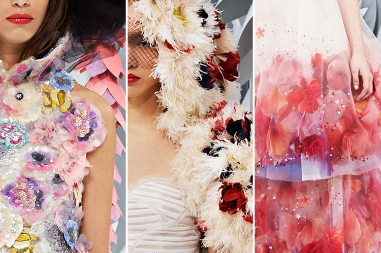 Chanel Couture details, Spring/Summer 2015