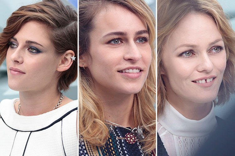 Celebrities at the Chanel Couture Spring/Summer 2015 show