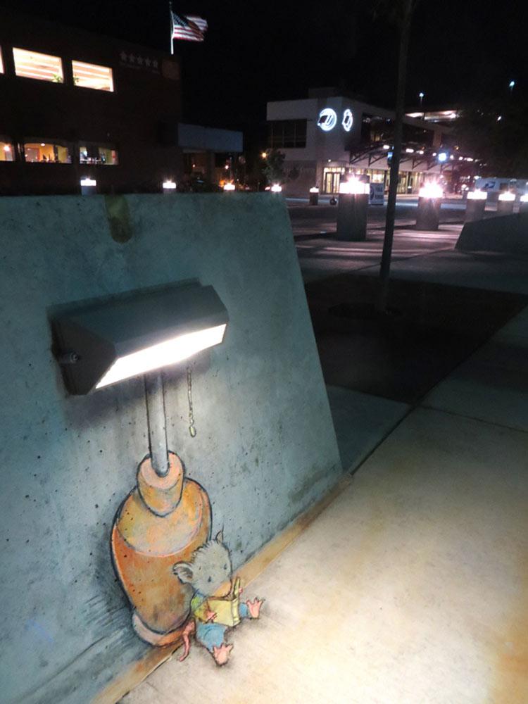 sidewalk stories by David Zinn