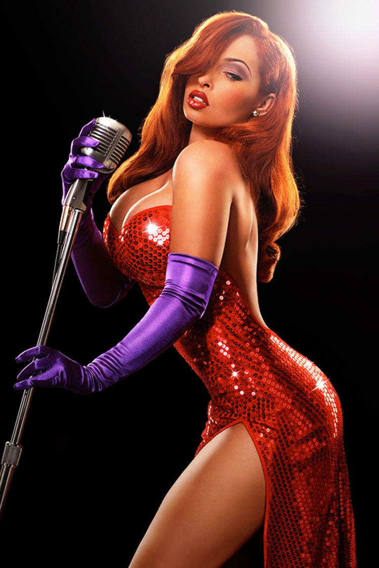 Disney Jessica Rabbit by Ryan Astamendi
