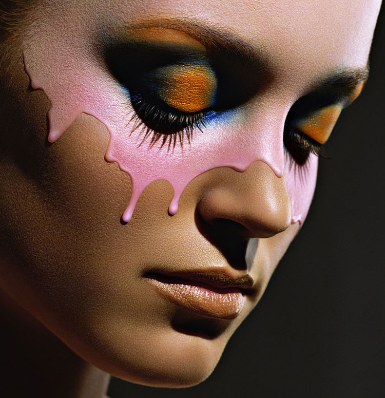 Makeup: Phyllis Cohen / Photography: Karin Berndl