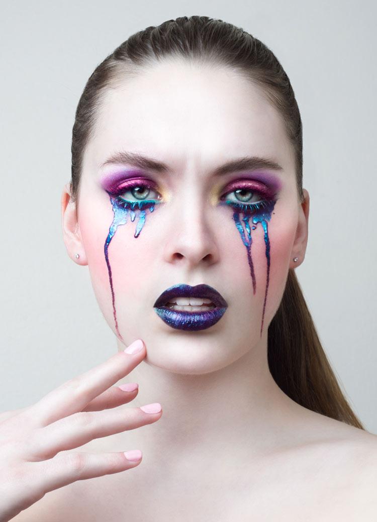 Makeup: Lis Krebs / Photography: Olivia Lazer
