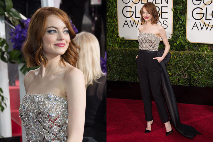 e0be3d67a3ce NEONSCOPE - The 10 Best Looks at the Golden Globes 2015