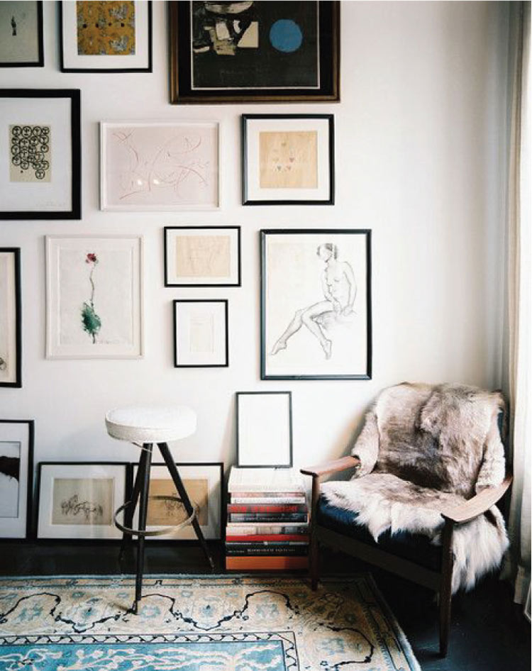 10 Creative Gallery Wall Ideas