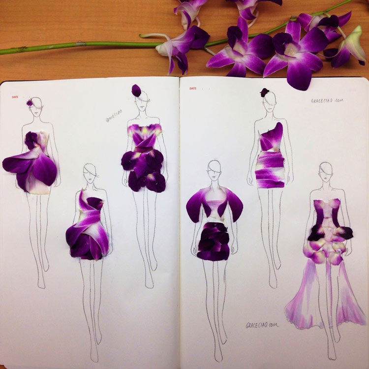 Flower dresses by Grace Ciao