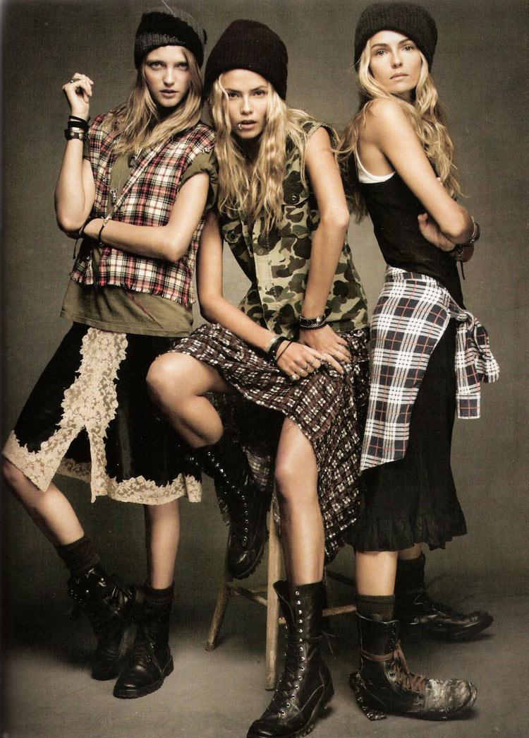 Grunge style, Vogue Spain, November 2011