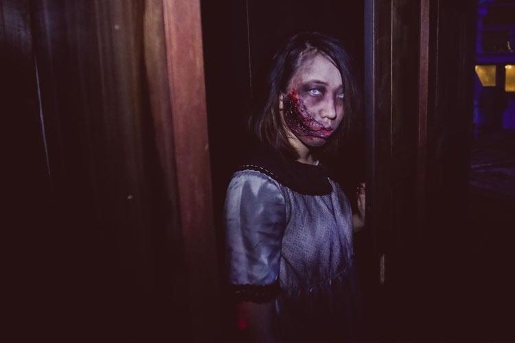 Bogeyman at the Halloween Horror Nights 4 in Singapore
