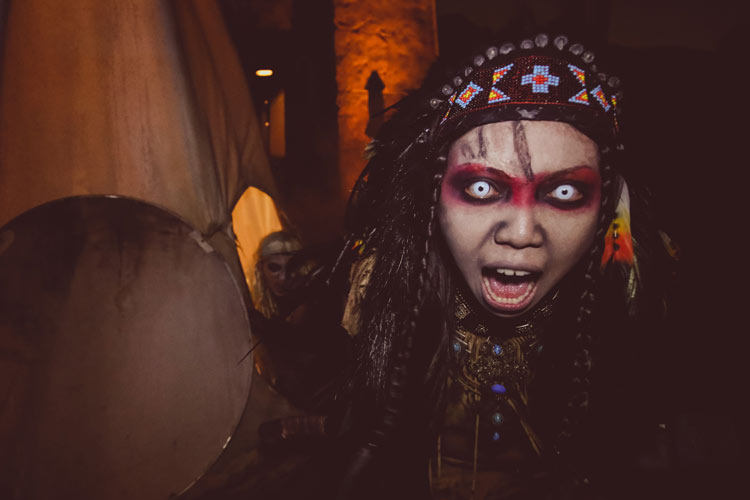 Canyon of the Cursed at the Halloween Horror Nights 4 in Singapore