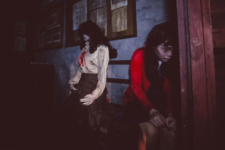 Jing's Revenge at the Halloween Horror Nights 4 in Singapore