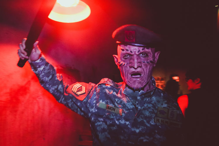 Mati Camp at the Halloween Horror Nights 4 in Singapore