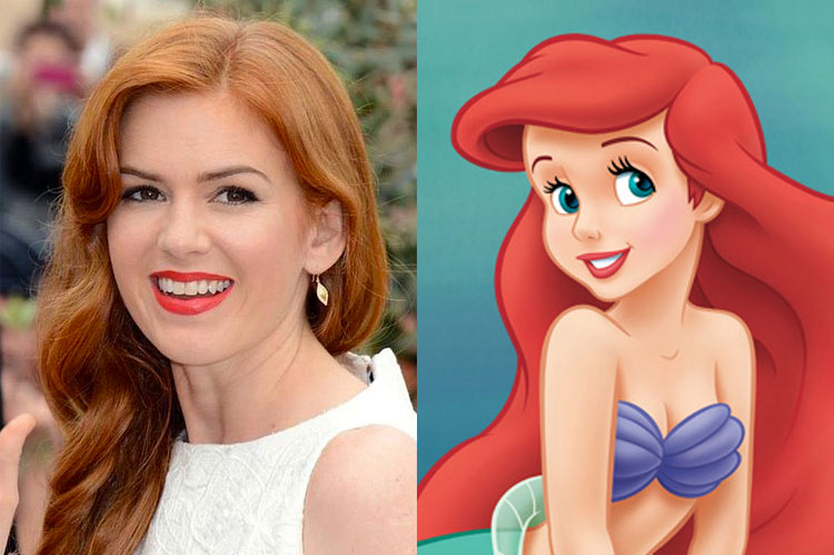 5 Celebrity Disney Princesses: Isla Fisher