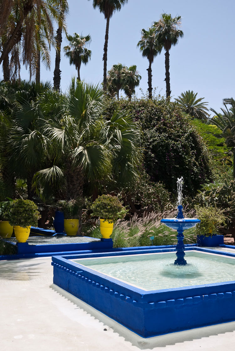 Neonscope the remarkable jardin majorelle for Jardin majorelle