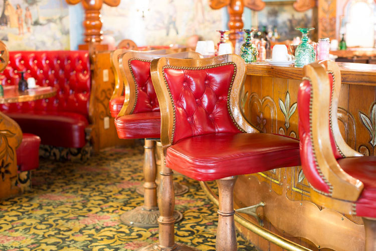 Copper Cafe at the Madonna Inn Hotel, California
