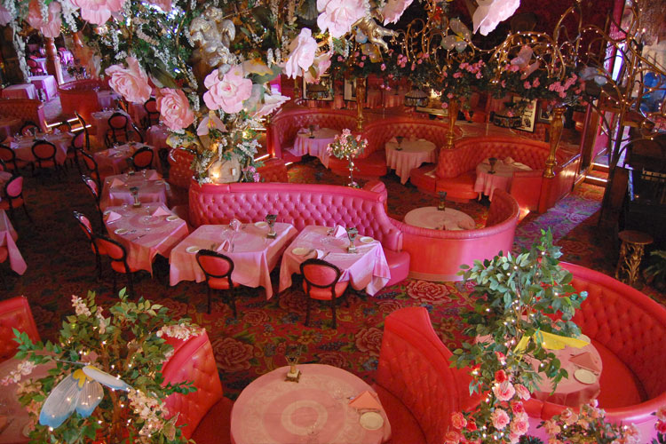 The Gold Rush Steakhouse at the Madonna Inn Hotel, California