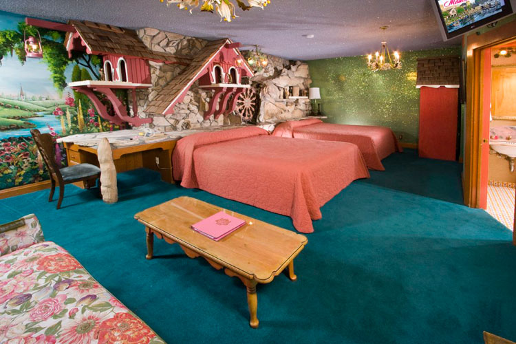 The Old Mill Room at the Madonna Inn Hotel, California