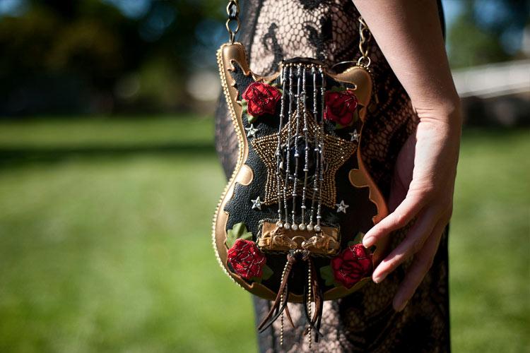 Madonna Inn guitar bag