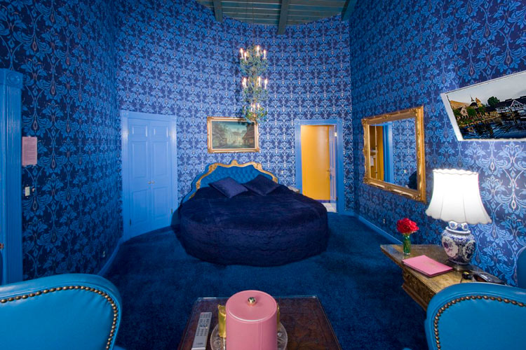Vous Room at the Madonna Inn Hotel, California