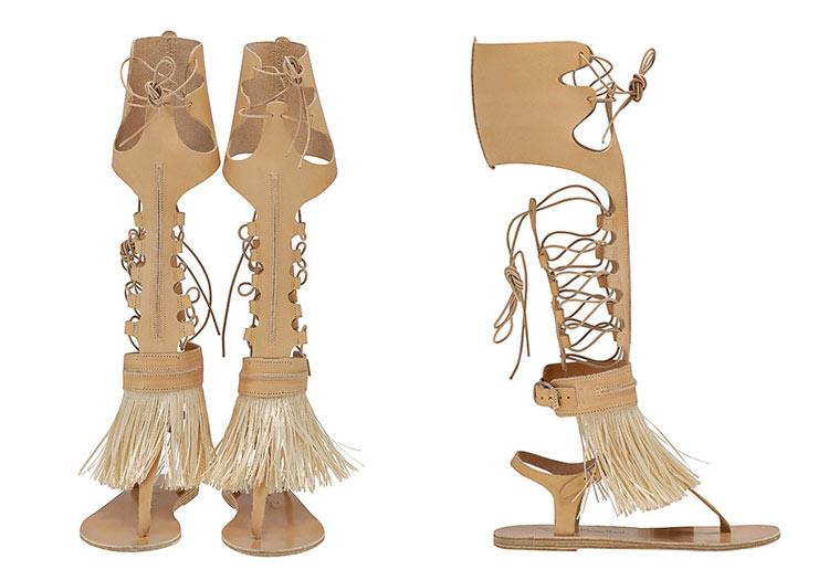 Ancient Greek Sandals for Marios Schwab by Ancient Greek Sandals
