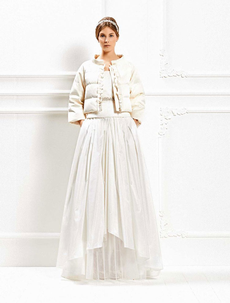 Cotton dress, Max Mara Bridal 2015