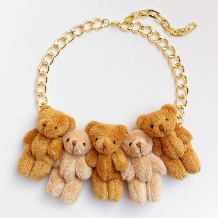 Onch Teddies Necklace by Onch Movement