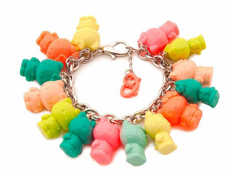 Hello Kitty & Onch Movement charm bracelet for Forever 21