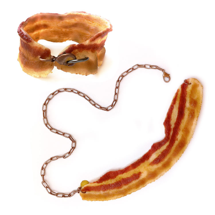 The Bacon bracelet and necklace by Onch Movement