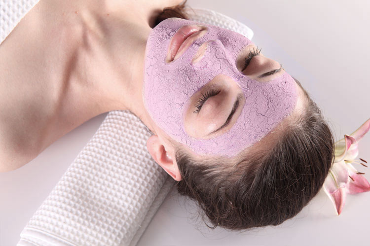 pink clay is perfect for sensitive and dry skin