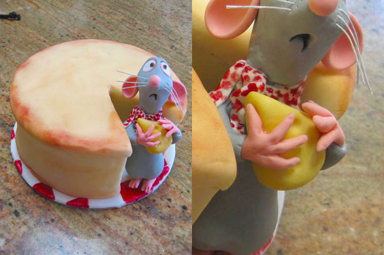 10 Small Cakes with Big Decorations: Ratatouille Cake