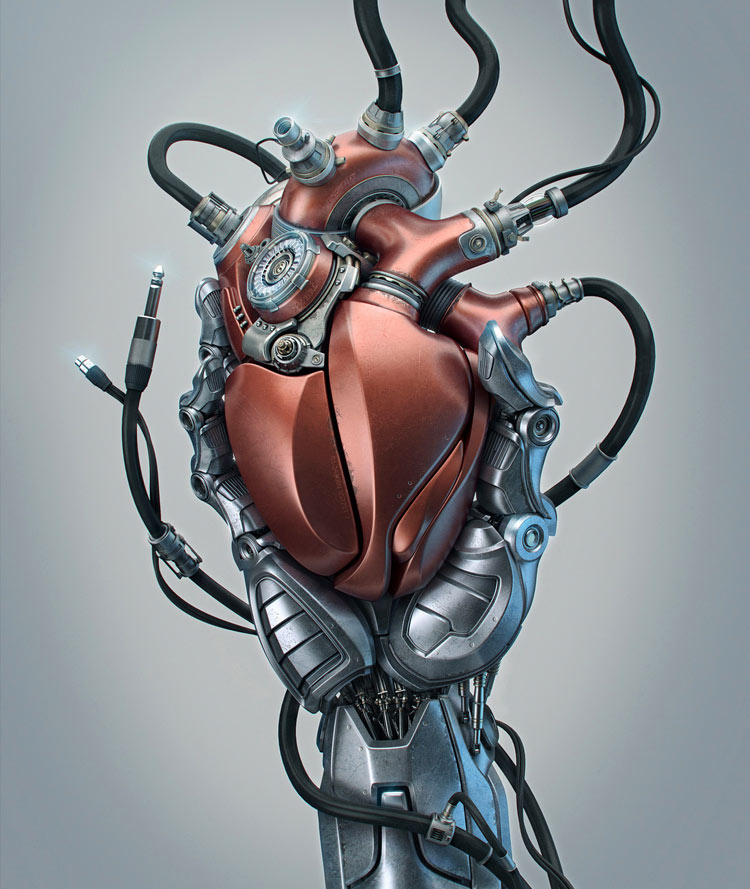 heart by Aleksandr Kuskov