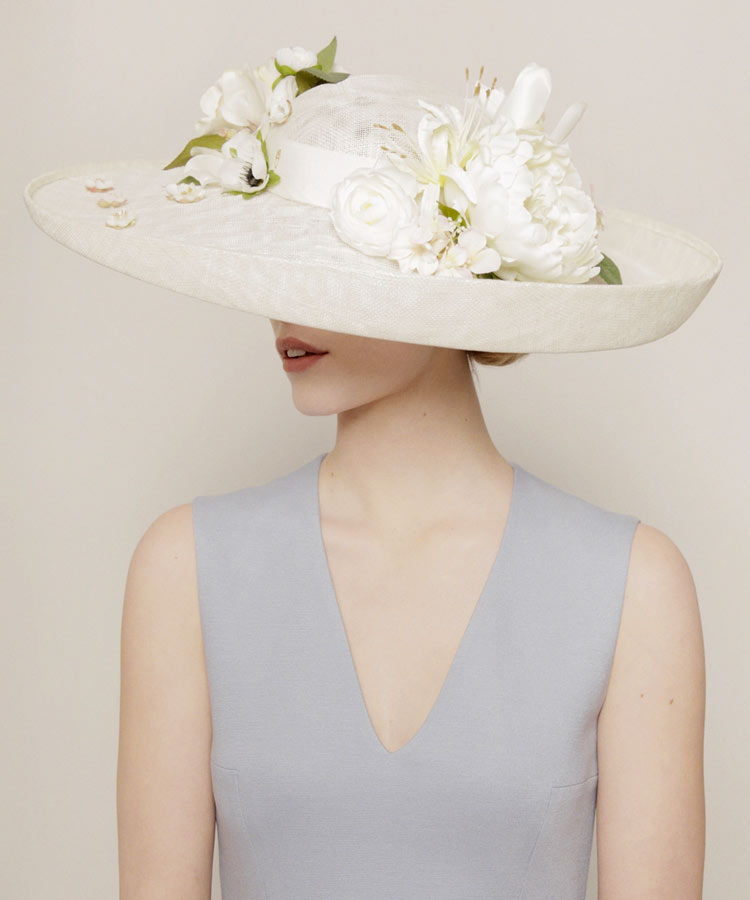 Piers Atkinson headpiece for Royal Ascot