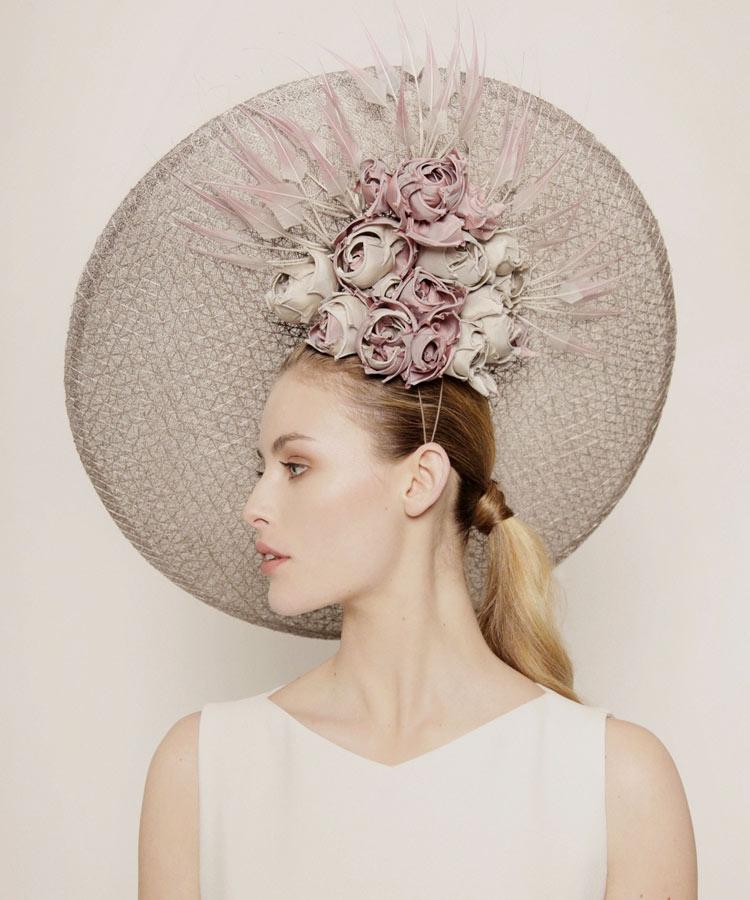 Rachel Trevor Morgan headpiece for Royal Ascot